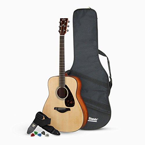 Yamaha FG800 Acoustic Guitar with Accessories Bundle