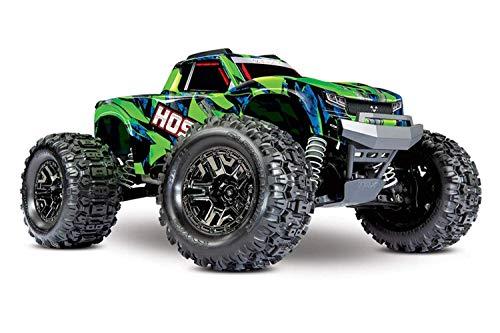 Traxxas 90076-4-GRN Hoss 4X4 VXL: 1/10 Scale Monster Truck