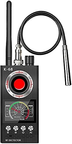 Detector de cámara oculta detector de insectos [anti-espía] [ultra alto] RF señal radiofrecuencia GPS detector anti cámara espía detector de insectos Sweaper dispositivo de detección