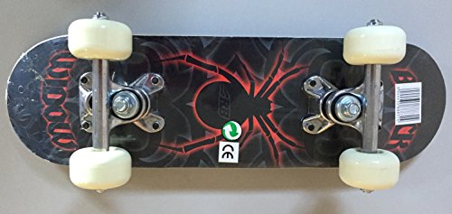 Bollinger Mini Skateboard, Niños, Rojo, Talla Única