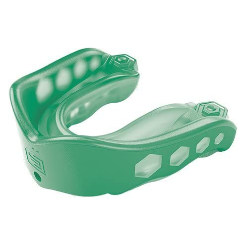 Shock Doctor Gel Max Convertible Mouth Guard, Green, Adult