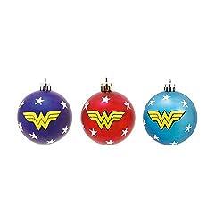 Bolas de Natal da Mulher Maravilha