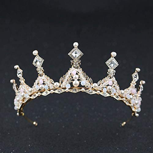 KEEBON Bridal Crown Crystal Rhinestone...