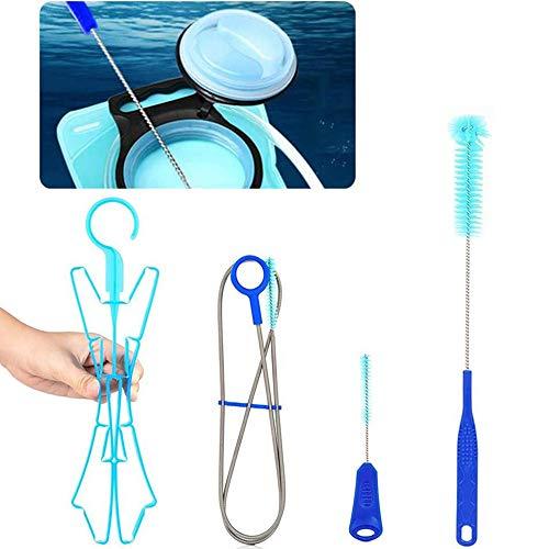 NETUME Reinigungsset für Trinkrucksack - Trinkblase für Wasserblase Trinkblase Reinigungsset, Trinkblase Camelbak 4-in-1-Reinigungsset