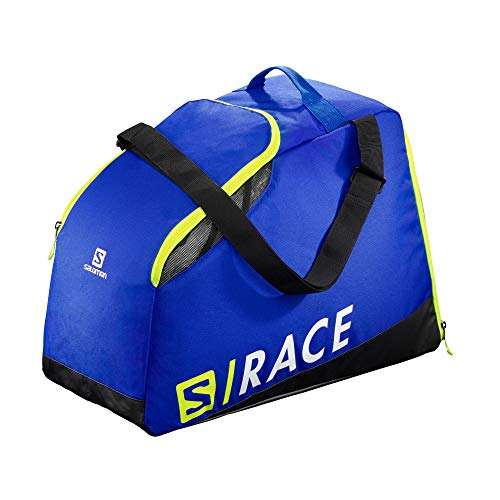 Salomon, Skischuh-Rucksack EXTEND MAX GEARBAG, Blau (Race Blue)/Neongelb (Neon Yellow SCFL), LC1169800