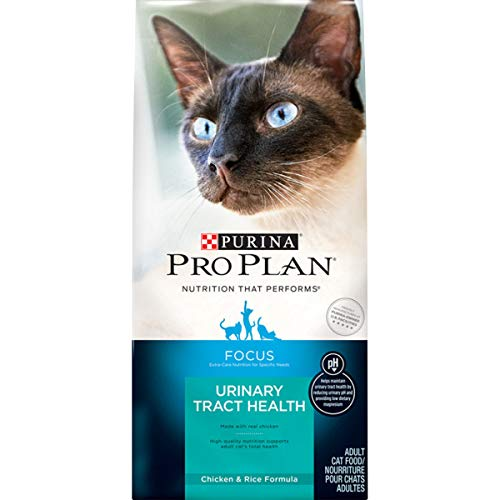 Purina Pro Plan Urinary Tract Health Dry Cat Food, FOCUS Urinary Tract Health Chicken & Rice Formula - 3.5 lb. Bag