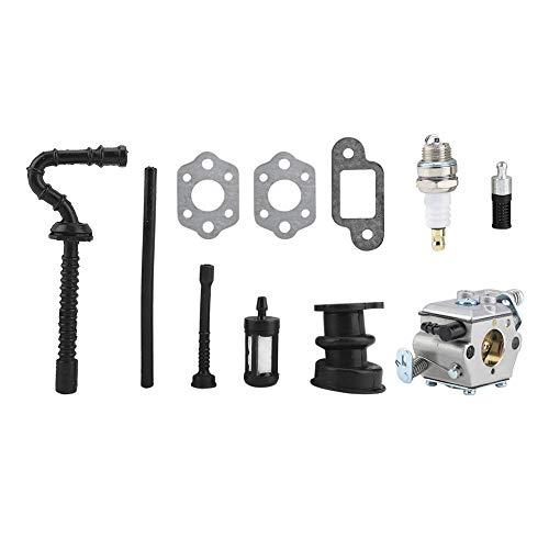 Kit de Carburador Filtro de Aire de Línea de Combustible de Colector de Admisión para Stihl MS210 MS230 MS250 021 023 025 Juntas de Motosierra