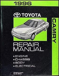 1996 Toyota Camry Repair Shop Manual Original