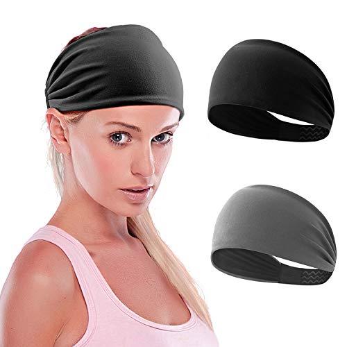ZUOSIVNAT Sport Headbands for Men and Women Sweatband Headbands for Yoga,Running,Basketball Wocking Out and Performance Stretch /& Moisture