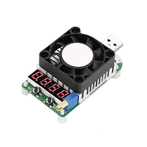Rosilesi 1 * Elektronische Last - LD25 USB Elektronische Last Digitalanzeige Batterietest Einstellbare Widerstandsspannung Strom Mete