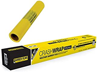 Auto Crash Wrap for Collision, Towing, and Outdoor Storage, All-Weather Barrier Protection Film 30