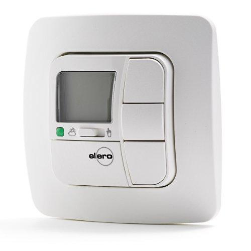 Elero AeroTec alpinweiß Set / Wind- und Sonnenwächter Steuerung