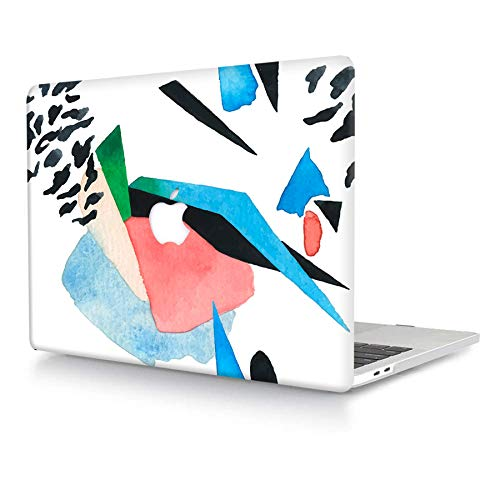 ACJYX Only Compatible with MacBook Air 11 inch Case Model A1370/A1465, Smooth Surface Plastic Print Pattern Rubber Coated Hard Shell Laptop Case Protective Cover for Air 11.6', Creative Painting