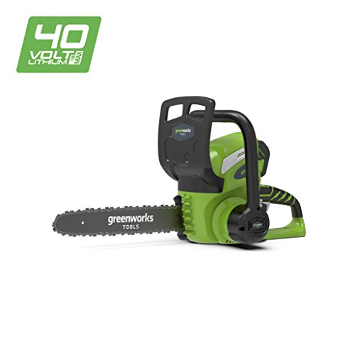 Greenworks Tools 30cm 40V Lithium-Ion Battery Chain Saw
