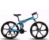 Vélos Pliants Sports Et Loisirs VTT VTC De Route BMX Ville Cruiser Enfants 24/26 Pouces Convient à 145-185CM La Taille (24 inch / 24 Speed,G)