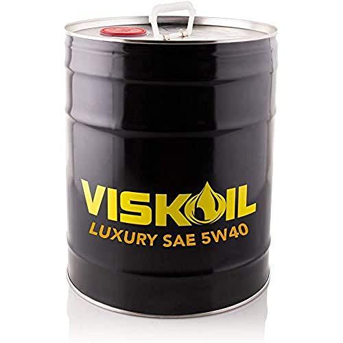 Lubrificanti Viskoil VISK5W4020LT 20 litros Aceite 5w40 Acea C2-C3 Motores Disele Y Gasolina