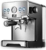 ROM como se Muestra, cafetera Italiana semiautomática de 15 Bares, cafetera Capuchino con Leche, máquina de café expreso Americana para el hogar