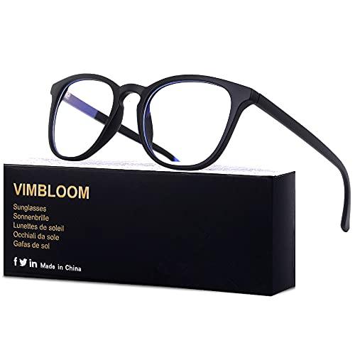 Vimbloom Lunettes Gaming Anti UV Lumiere Bleue Filtre Ordinateur Gaming Homme Femme VI387
