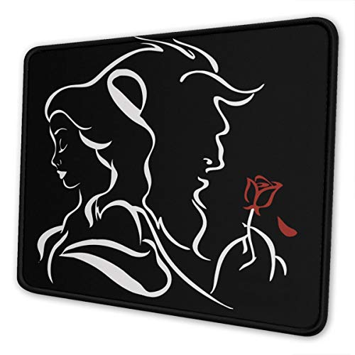 Mouse Pad Beauty Within The Beast Non-Slip Rubber Base Stitched Edges Gaming Mousepad for Computers Laptop
