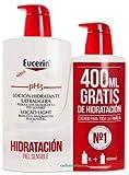 Eucerin |Loción Hidratante Ultraligera| Family Pack: 1000 ml. + 400 ml. de Regalo (Total 1400 ml.)