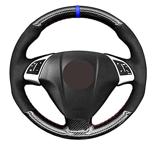 Qind1aS - Fundas de volante para Fiat Grande Punto Bravo Linea 2007 ~ 2019 Qubo Doblo Opel Combo Vauxhall Combo 2012 ~ 2017 (hilo gris)