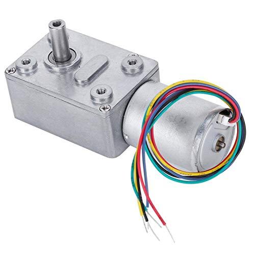 Motor de engranajes, motor de reducción de velocidad, pequeños electrodomésticos de 12V Jgy-2430 para robots(3rpm)