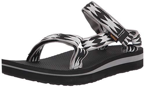 Teva Women's MIDFORM Universal Sandal, HALCON Black Multi, 7