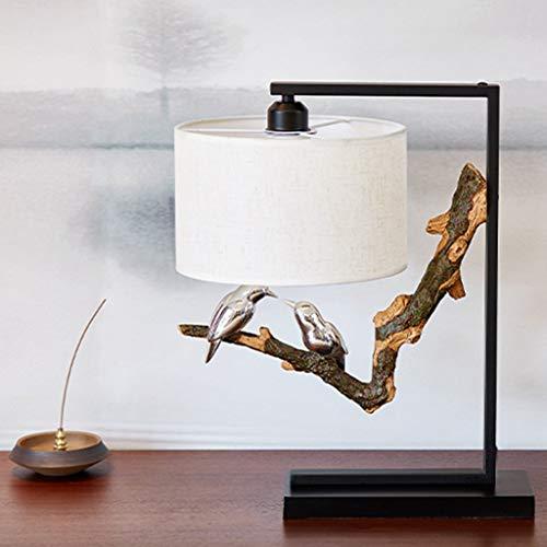Lfixhssf bedlampje tafellamp drukknop carving van hout perfect cadeau nachtlampje Lfixhssf