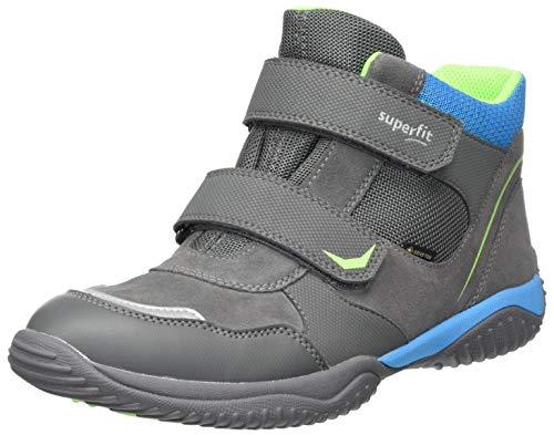 Superfit Jungen Storm Sneaker, Grau Blau 2000, 25 EU