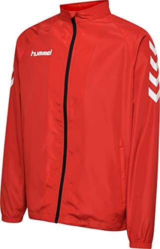 hummel Chaqueta Core Micro Zip para hombre, Hombre, Chaqueta, 203441-3062, Color rojo., medium