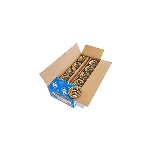 Tacwise 1127 Ring-Coilnägel Verzinkt (2,1/22mm,14.400 Stück pro Verpackung)