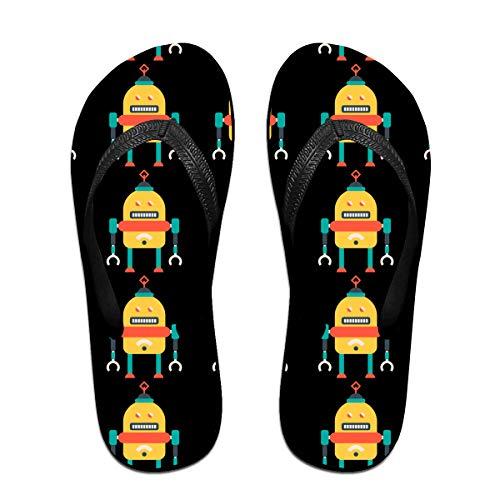 Iop 90p The Robot Flip Flops Sandalias de Playa para Piscina, PVC,...