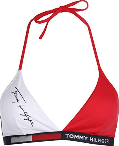 Tommy Hilfiger UW0UW02176 Badeanzug Damen RED White XS
