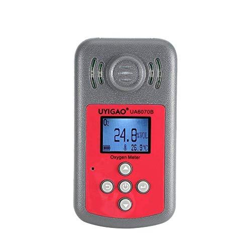BXU-BG Digital-Sauerstoff-Detektor O2 Gas Tester Analyzer-Monitor Messwerkzeug Air Quality Monitor UA6070B Sauerstoffmessgerät