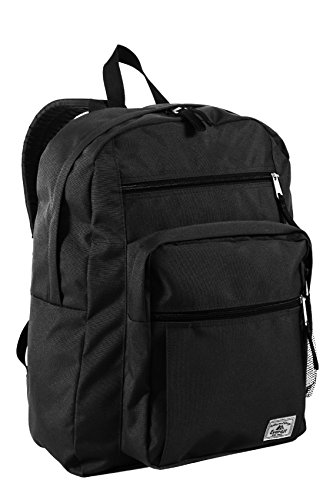 Best Review Of Everest Multi-Compartment Daypack with Laptop Pocket, Black, One Size