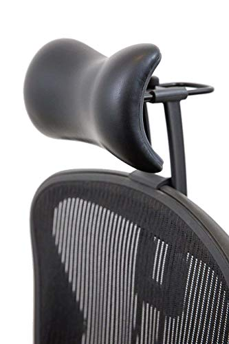 Atlas Headrest for Herman Miller Aeron Chair (Synthetic Leather)