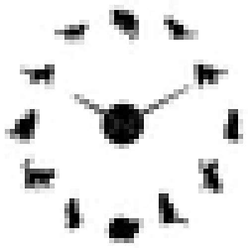 Reloj de Pared Silueta Gatos Arte de la Pared Gatitos DIY Reloj de Pared Gigante Gatos juguetones Aguja Grande Kitty Habitación de niña Reloj de Pared Grande Regalo de Ventilador felino
