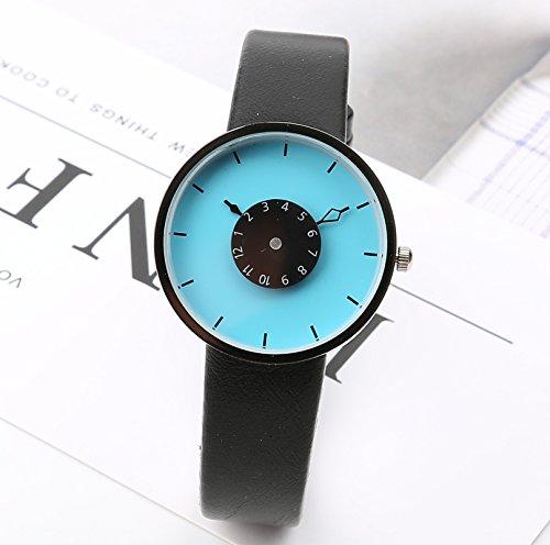 WL-zzf Korean Version Of Simple Fashion Creative Turntable Watch...