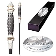 The Noble Collection - Narcissa Malfoy Character Wand - 14in (35cm) High Quality Wizarding World Wan...