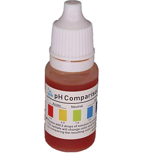 Ph Test Liquid Kit for Drinking Water Measures pH Level of Water More Accurately Than Test Strips pH Starter Kit Drops Easy to Use