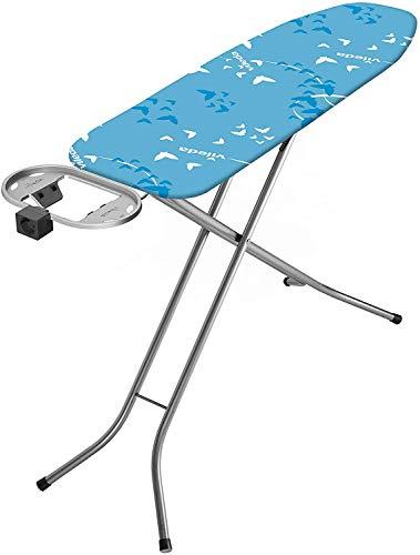 Vileda Smart Plus Bügelbrett integrierter Elektroanschluss, dampfdurchlässiger Oberfläche, blau