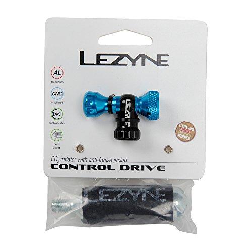 Lezyne CO2 Pumpe Control Drive CNC blau-glänzend 16g, 1-C2-CTRLDR-V110 Minipumpe