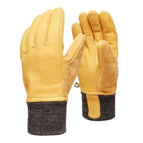 Black Diamond Dirt Bag Gloves Guantes, Unisex Adulto, Natural, Large