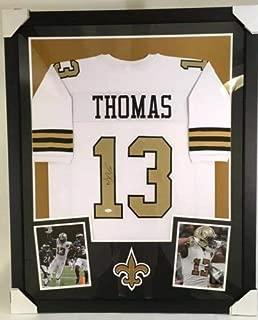 Michael Thomas Autographed Signed New Orleans Saints Custom Color Rush Jersey JSA