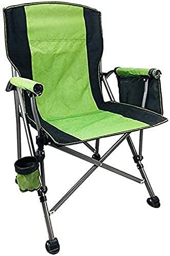 SHKUU Folding Back Chair, Outdoor Leisure Thickening Ox Cloth Field Courtyard Chair Car Camping Beach Chair