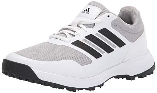 adidas Men's Tech Response Spikeless Golf Shoe, Ftwr White/Core Black/Grey Two, 11