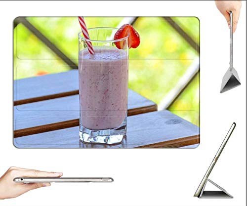 Case for iPad 10.2-inch 2019 (7th Generation) - Strawberry Drink Kefir The Drink Strawberries