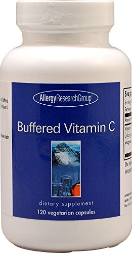 Buffered Vitamin C, 120 Veggie Caps - Allergy Research Group - Qty 1