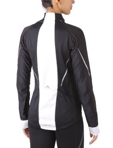 GORE WEAR Damen Jacke Phantom 2.0 Windstopper Soft Shell, Black/White, 36 - 2