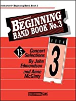 Beginning Band Book #3 for Conductor Score and CD
